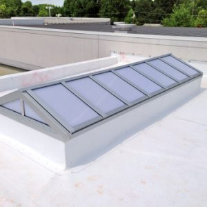 architectural extruded Aluminum Skylight